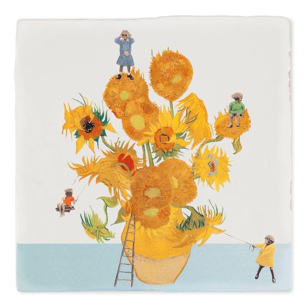 zonnebloemen van Van Gogh by StoryTiles